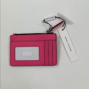 Marc Jacobs Pink Small Wallet